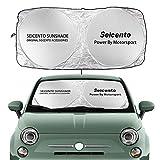 Tendine parasole per auto Auto Parabrezza Parasole Cover per Fiat 500 Argo Bravo Doblo Ducato Freemont Idea Linea Panda Punto Seicento Siena Accessori Parasole per parabrezza ( Color : For Seicento )