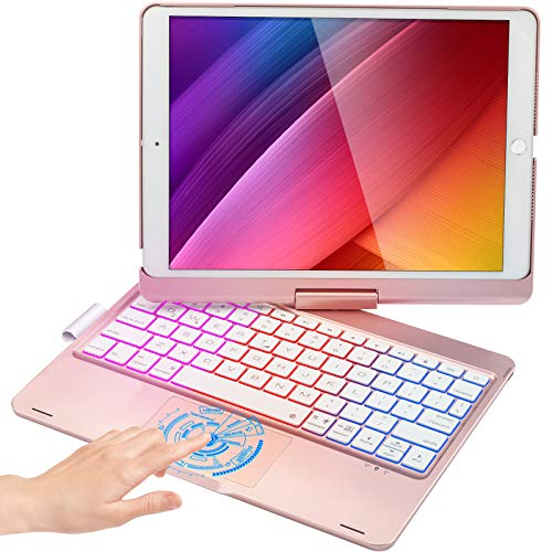 Touchpad Keyboard Case for iPad 8 Gen 2020, iPad 7 Gen 2019, iPad Air 3 2019, iPad Pro 10.5 inch...
