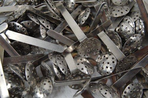 Stahl-Hängesiebe 18mm für Tabakpfeifen, trad. Wasserpfeifen (5 Stück)