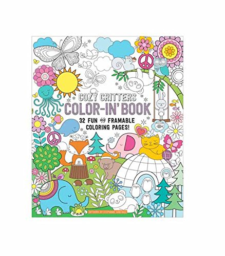 """OOLY, Coloring Book, Cozy Critters, 32 Pages, 9"""" x 12"""" (118-156)"""