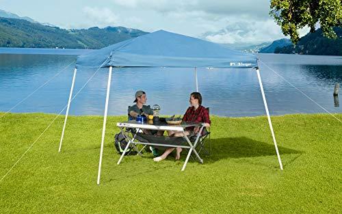 BERGER Faltpavillon Festival 3x3m UV-Schutz Sonnenschutz Camping Pavillon Sonnendach Strand Dach