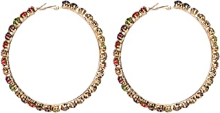 Mejor Big Crystal Earrings de 2020 - Mejor valorados y revisados