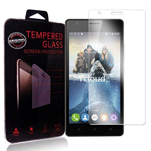 Ycloud Panzerglas Folie Schutzfolie Bildschirmschutzfolie für Oukitel C4 Screen Protector mit Festigkeitgrad 9H, 0,26mm Ultra-Dünn, Abger&ete Kanten