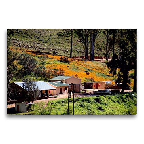 CALVENDO Premium Textil-Leinwand 75 x 50 cm Quer-Format Farm in den Cederberg Mountains, Südafrika, Leinwanddruck von Richard Walliser