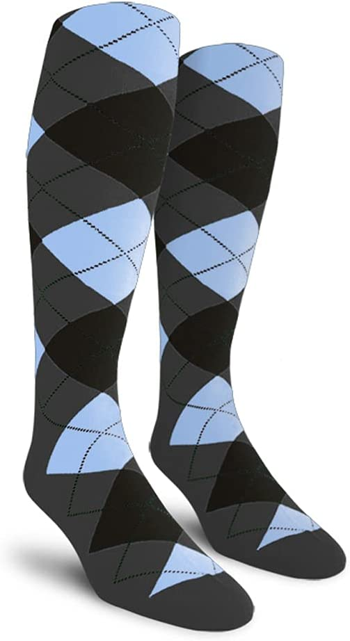 Golf Knickers Colorful Free shipping on posting reviews Knee Selling and selling High Argyle Socks Cotton Wom for Men