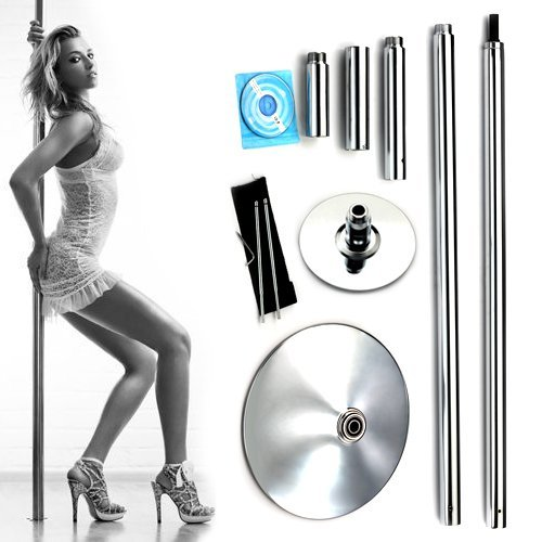X-Dance 45mm Portable Removable Dance Pole Sport Fitness Exercise...