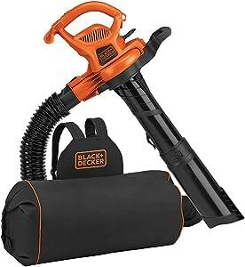 BLACK+DECKER BEBL7000 3-in-1 Electric Leaf Mulcher Vacuum Blower