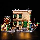 LINANNAN Light Set para Lego Sesame Street, Kit de iluminación LED Compatible con Lego Sesame Street 21324 (Modelo Lego no Incluido)