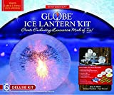 Globe Ice Lantern Deluxe Kit Plus WLED - Makes 6 Small/Large Globes Ice Lanterns   Includes 3 Reusable Balloon Shaping Freezing Base   Full Color Step-by-Step Instructions