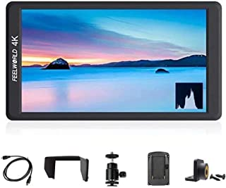 """Feelworld F570 5.7"""" IPS Full HD 1920x1080 On Camera Monitor Support 4K HDMI Input/Output for DSLR Cameras and Gimbal Stabi..."""