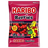 Haribo Gummi Candy, Berries, 5 Pound Bag