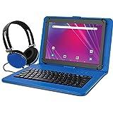 """Ematic 10.1"""" EGQ239BD 16GB Tablet Bundle (Wi-Fi, Blue) (EGQ239BDBU)"""