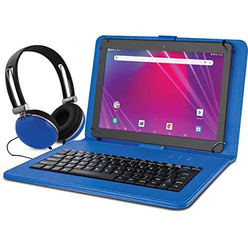 "Ematic 10.1"" EGQ239BD 16GB Tablet Bundle (Wi-Fi, Blue) (EGQ239BDBU)"