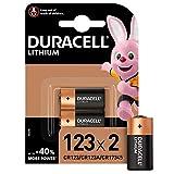 Duracell High Power Lithium 123 Batterie 3V, 2er-Packung (CR123 / CR123A / CR17345) entwickelt...