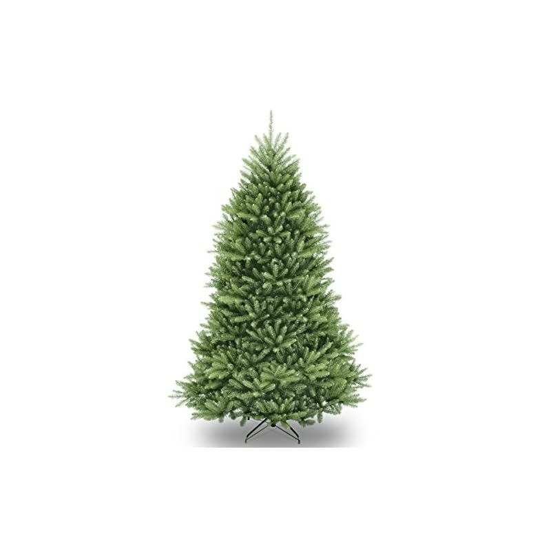 silk flower arrangements national tree company artificial christmas tree   includes stand   dunhill fir - 6 ft