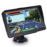 Navigationsgerät für Auto, 16GB 7 Zoll GPS Navigation Touchscreen für LKW PKW KFZ Navi mit POI Blitzerwarnung Sprachführung Fahrspur Neueste Navigationssystem Lebenslang Kostenloses Kartenupdate