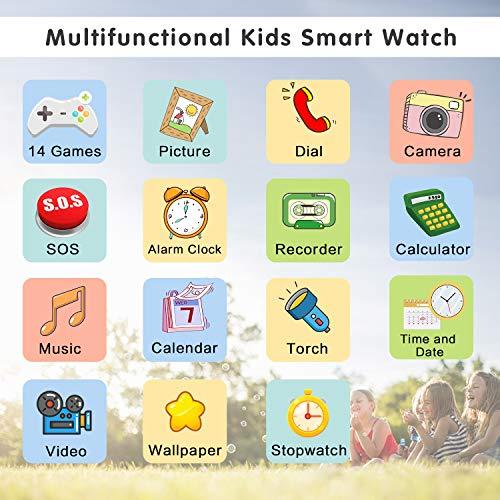 Telefonuhr/Smartwatch Kinder von BAUISAN (Amazons Choice) - 2