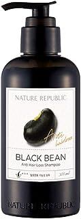 Nature Republic Black Bean Anti Hair Loss Shampoo ネイチャーリパブリックブラックビーンアンヘアロスシャンプー [並行輸入品]