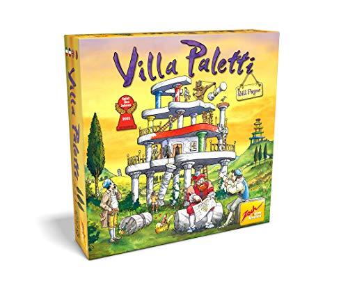 Zoch 601122900 Villa Paletti ,Spiel des Jahres 2002, ein außergewöhnliches Bauspiel für die Ganze Familie, 2-4 Spieler, ab 8 Jahren