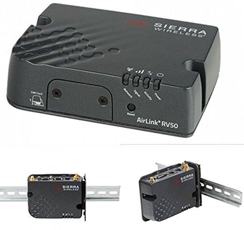 Sierra Wireless AirLink RV50 Cellular Network Gateway - Router (10,100,1000 Mbit/s, RS-232, SMA, TCP/UDP, AMM, Alms, SNMP, Telnet, SSH)