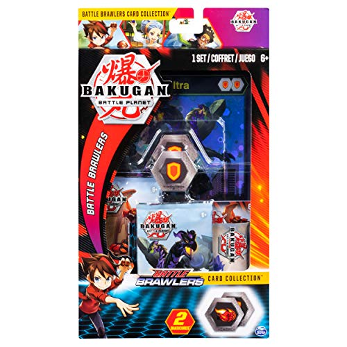 BAKUGAN 6045136, Deluxe Battle Brawlers Collection con Jumbo Foil Nillious Ultra Card, para Edades 6 y más, Multicolor
