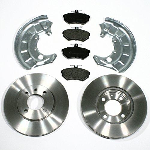 Bremsscheiben Bremsen Bremsbeläge Spritzbleche vorne Vorderachse
