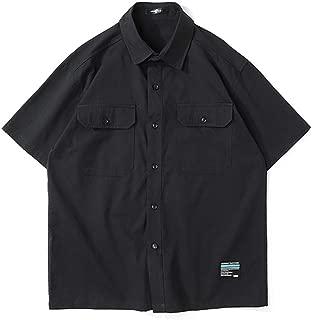 BaronHong Cotton Fashion Short Sleeve Skinny Polo Shirt for Tomboy Trans Lesbian