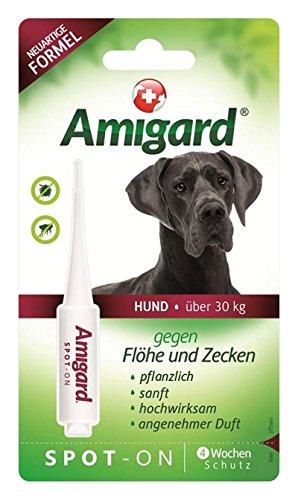 6ml Amigard Spot-on große Hunde, große Hunde >30kg, 6 ml Spot-on