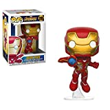 Funko 26463 Avengers Infinity War 26463 Pop Bobble Marvel Iron Man Collectible Figure, Multicolor...