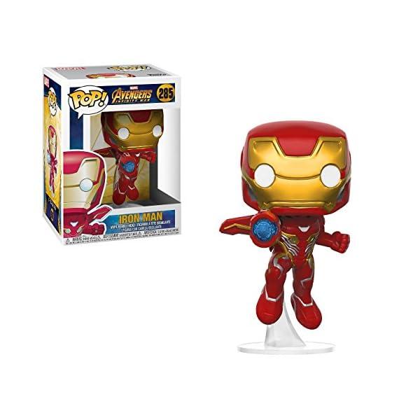 Funko Pop Iron Man (Los Vengadores: Infinity War 285) Funko Pop Los Vengadores