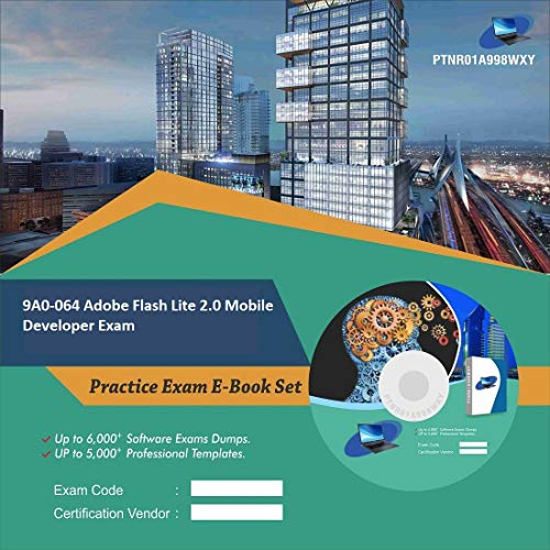 9A0-064 Adobe Flash Lite 2.0 Mobile Developer Exam Complete Video Learning Certification Exam Set (DVD)