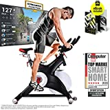 Sportstech Professional Indoor Cycling <span class='highlight'>Exercise</span> Bike SX500 -German Quality Brand- Video Events & Multiplayer APP, 25KG Flywheel, pulse belt compatible Speedbike Studio Quality, SPD Clicksystem, eBook