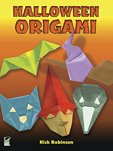 Halloween Origami (Dover Origami Papercraft) (English Edition)