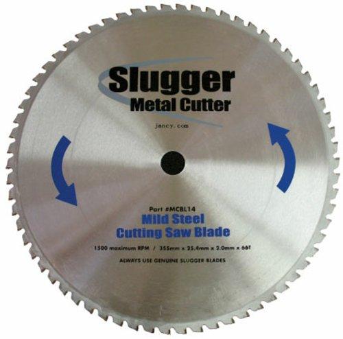 Jancy Slugger MCBL14 Mild Steel Cutting Saw Blade, 14