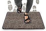 Indoor Doormat Super Absorbent Mud Mat 24 x 36 inch Non Slip Door Mat for Front Door Inside Floor Dirt Trapper Mats...