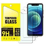 Yispirin - Protector de pantalla de cristal templado para Oukitel C22, dureza 9H, antiarañazos, sin burbujas, protector de pantalla HD para Oukitel C22