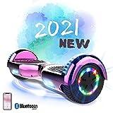 MARKBOARD Hoverboard Gyropode Bluetooth 6.5 Pouces, Scooter Electrique Moteur 700W Self-Balance Board E-Scooter Auto-équilibrage Électrique Skateboard