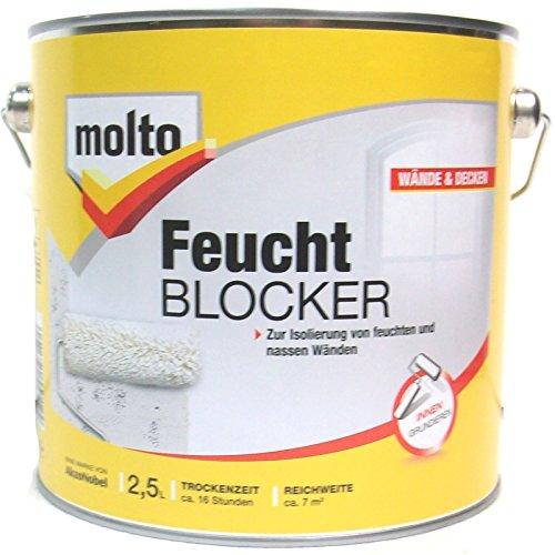 Molto Feuchtblocker, 2,5 Liter in weiß