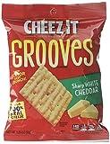 Pringles Cheddar Crackers, Sharp White, (Pack of 6)