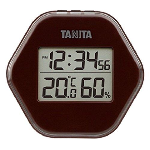 タニタ(TANITA) 温度計・湿度計 ブラウン デジタル デジタル温湿度計 TT-573-BR