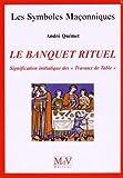Le banquet rituel - Signification initiatique des