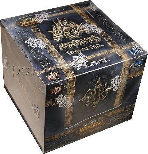 bienvenido a elegir World of Warcraft Warcraft Warcraft Card Game - Naxxramas Treasure Pack Box - 17c 10p by Upper Deck  alta calidad y envío rápido