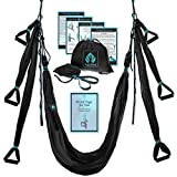 Aerial Yoga Swing Set - Yoga Hammock Swing - Trapeze Yoga Kit +...