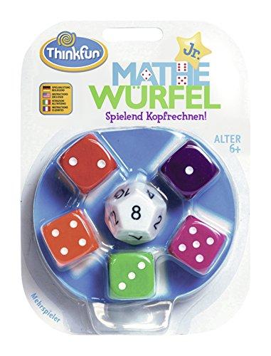 ThinkFun 76316 - Mathe Würfel Junior