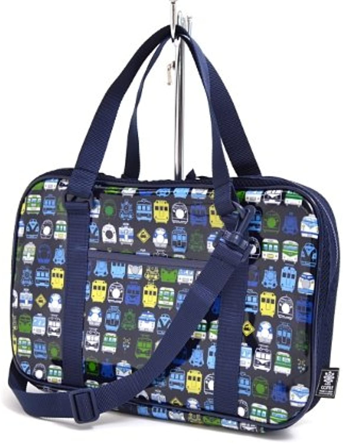 Kids Calligraphy, penmanship bag rated on style (only bag) locomotive, train collection of the city of my (navy) made in Japan N2208900 (japan import)