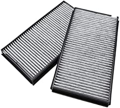 Heart Horse A/C Cabin Carbon Air Filter for B-M-W 5 Series E60 M5 528i 535i 545i 550i 650iwith Activated Carbon 64319171858(2 PCS)