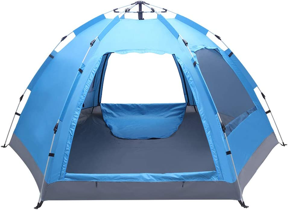 MuGuang 3-4 Person SEAL limited product Tent Automatic Instant Reservation Up Family Wat Pop