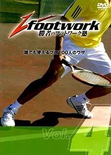 勝者のフットワーク塾DVD Vol.4 「ワイドなボールをしっかり打ち返すフットワーク」
