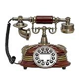 Retro Telefon, Klassische Festnetz, Rotary-Dialeltelefon, Bürotelefon, Wohnzimmerdekoration