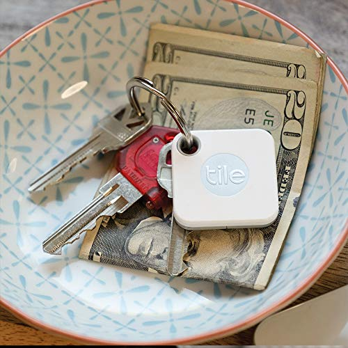 Tile Mate (2020) 1-pack - Bluetooth Tracker, Keys Finder and Item Locator for Keys, Bags and More - Christmas gifts for girl best friend ideas